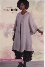 PATTERN - Yollie Tunic - women's sewing PATTERN from Tina Givens