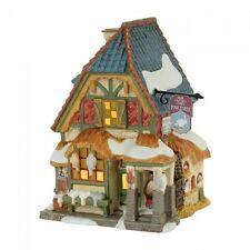 Dept 56 2017 Dickens Village A Christmas Carol POULTERERS SHOP SET OF 4 4056648