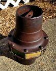 Architectural Salvage Queen Ann Iron Outdoor Antique Lantern Lamp Cap