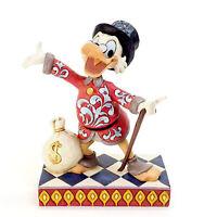 Enesco Disney Traditions Scrooge Treasure Seeking Tycoon Figure NEW