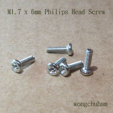 M1.7 x 6mm Philips Head Screw - 50 PCS