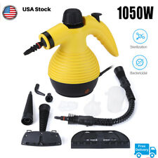 Portable Multifunction Steamer Household Steam Cleaner 1050W W/Attachments New