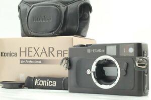 【 Beste Mint IN Karton & W / Schutzhülle】 Konica Hexar RF 35mm Film Kamera Aus