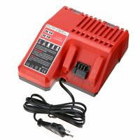 230V Lithium Li-ion Battery Charger Replacement Tool For Milwaukee M18 18V Red