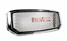 2015-2017 GMC Yukon / Yukon XL Denali Chrome Grille 84119633 w/ Emblem OEM GM