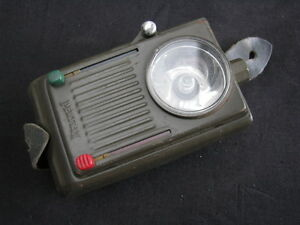 Vintage Pertrix Army Flashlight Dutch Army until 1980