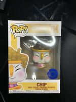 Funko POP ! Beauty And The Beast Chip Pop in a Box Exclusive