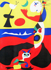 MIRO - 'ETE - ORIGINAL LITHOGRAPH FROM VERVE - 1938 - FREE SHIP IN THE US  !!!