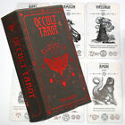 Occult Tarot: A 78 Tarot Cards Deck English Version Divination Oracle Card Game