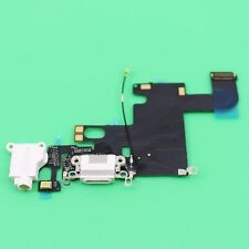 """Replacement Dock Connector Charging Port Headphone Jack Flex iPhone 6 4.7"""" White"""