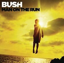 BUSH - MAN ON THE RUN (Deluxe) - Album CD endommagé BOÎTIER