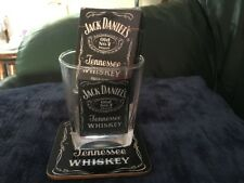 Jack Daniels Old No 7 Glass,beer Mat & Playing Cards Great Gift
