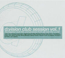 D:VISION CLUB SESSION = Imada/Blaze/Gambafreaks/Cabrera...=2CD= groovesDELUXE !!