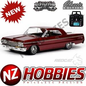 REDCAT SixtyFour 1:10 Scale RTR Hopping Lowrider RED Classic Edition # RER13525