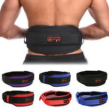 Waist Support Belt Heavy Weight Lifting Lumbar Fitness Lower Back Brace Strap US
