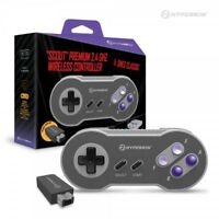 Hyperkin Scout Premium 2.4GHz Wireless Controller for NES & SNES Classic Edition