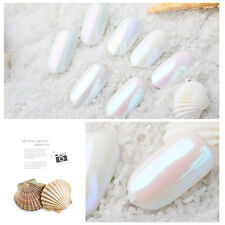 7Colors Mirror Nail Pearl Powder Glitter Dust Manicure Nail Art Chrome Pigment