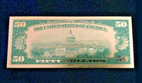 """1☆MINT☆OLD STYLE""""GOLD""""$50.00 GOLD☆✔ CERTIFICATE $50 DOLLAR Rep.*Bank☆note☆ YQV"""