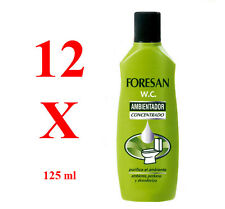 FORESAN W.C. konzentrierter Lufterfrisc (Freshener) 125ml. 12 UNITS