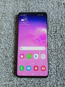 Samsung Galaxy S10- 128Go - 8G RAM-Noir-Mobile GSM Black Noël