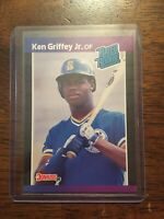 1988-89 DONRUSS KEN GRIFFEY JR. RATED ROOKIE ERROR BASEBALL CARD NO DOT AFTERINC