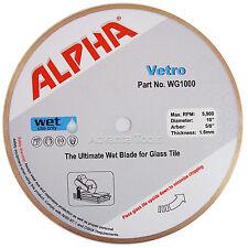 "10"" Alpha Vetro Glass Tile Diamond Saw Blade"