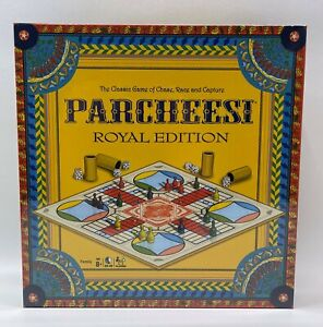 Parcheesi Classic Game Royal Edition Board Game New
