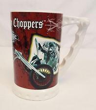 2006 O.C.C. Orange County Choppers Motorcycle Ceramic BEER STEIN Coffee Mug MINT