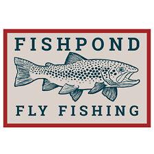 """Fishpond Las Pampas Sticker - 6"""""""