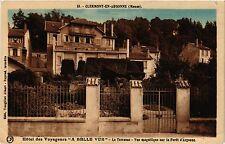 """CPA   Clermont-en-Argonne (Meuse) - Hotel des Voyageure """" A belle vue"""" (432373)"""