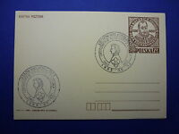 LOT 12586 TIMBRES STAMP ENVELOPPE MUSIQUE POLOGNE ANNEE 1985