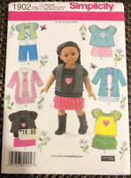 Simplicity 1902 18 inch Doll Clothes Elaine Heigl Designs American Girl vest