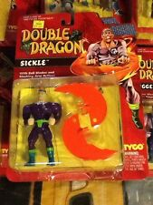 Tyco Double Dragon Figure Sealed On Card Sickle