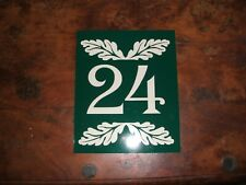 House Number - Sign Plastic Weather Resistant Wish Number 7/8x6 1/2in