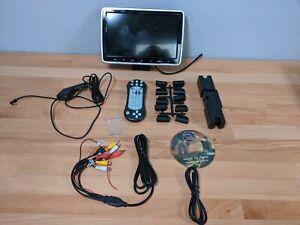 "10.1"" Full HD Car Headrest Monitor Portable DVD Player TV Screen HDMI AV-IN/OUT"
