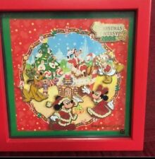 Tokyo Disney Disneyland Christmas Frame Pin Pins Set 20 years Anniversary 2003