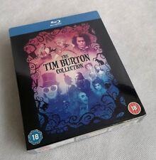 Tim Burton Collection Blu-Ray Box Set Batman, Corpse Bride + 6 more BRAND NEW