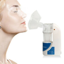 PORTABLE ULTRASONIC NEBULIZER MACHINE HANDHELD RESPIRATOR HUMIDIFIER UK SEND