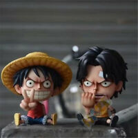Anime One Piece Monkey D. Luffy Portgas·D· Ace PVC Figure Model Doll New