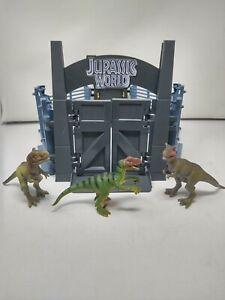 Jurassic World Tyrannosaurus Rex Lockdown Park Playset 2015 Rex Gyro Sphere Set