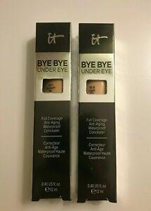 IT Cosmetics Bye Bye Under Eye Waterproof Concealer Size 0.40 oz Choose shade