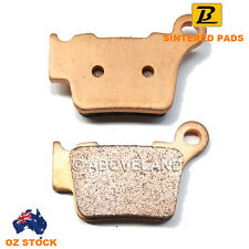 Rear Sintered Brake Pads Husqvarna SMR 449 4t 2011