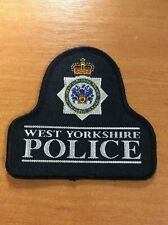 UNITED KINGDOM GREAT BRITAIN PATCH POLICE WEST YORKSHIRE - ORIGINAL!