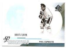 10/11 SP AUTHENTIC SP ESSENTIALS #162 Phil Esposito #887/1999
