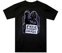 Star Wars Darth Vader Free Throat Hugs Black Men's T-Shirt New