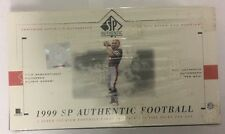 1999 Upper Deck SP Authentic Factory Sealed Football Hobby Box