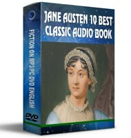 Jane Austen 10 Best Unabridged Classic Novels Audiobooks On Mp3 DISC