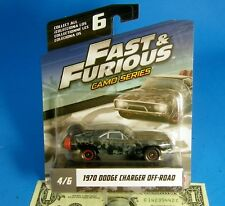 1970 Dodge Charger Off-Road Diecast Car Fast & Fate of the Furious 8 CAMO SERIES