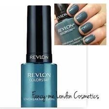 Revlon Nail Enamel Colorstay Longwear 280 Blue Slate