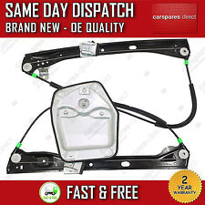 VW GOLF MK5 V 03-09 FRONT LEFT ELECTRIC WINDOW REGULATOR ON 4/5 DOOR WITH PANEL